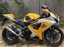Suzuki motorbike made in 2008