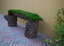 يوجد لدي جلسه بجدع النخيل تستخدم ف الحدائق
