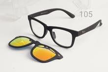 نظاره ريبان ب عدسه شفافه