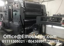 ماكينة طباعة هايدلبرج 2 لون سبيد ماستر Heidelberg SM 102 ZP
