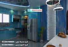 ديكور شقة 63 متر / افضل سعر تشطيب  من  هيفين هوم  01206788861