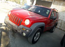 1 - 9,999 km Jeep Liberty 2002 for sale
