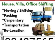 house furniture item shifting moving transport labuor carpenter available