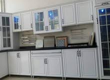 فني مطابخ صيانة فك وتركيب تفصيل وجاهز حسب الطلب تغير لون المطبخ تغير رخام صناعي