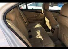للبيع BMW 530i 2008 صبغ الوكاله  بحاله الوكاله شرط الفحص بالوكاله