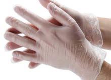 قفاز ڤينيل اصلي 100٪ ومريح ( قفازات gloves )