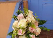 بووكيه ووورد طبيعي للعروساات