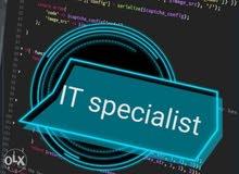 مسئول دعم فني وشبكات الحاسب الآلي والانترنت وصيانه الحاسوب Technical support
