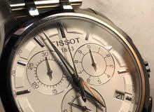 ساعة تيسو جديدة مع ضمان عالمي