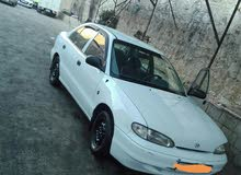 Hyundai Accent 1995 For Rent - White color