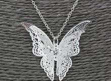 قلادة الفراشة العجيبة