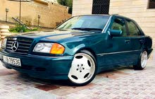 Green Mercedes Benz C 180 1996 for sale