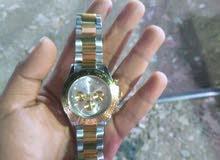 ساعة روليكس هاى كوبى لون ذهبى مستوردة من قطر جديدة