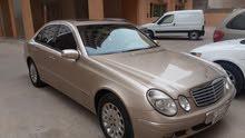 Mercedes Benz E 240 2003 For sale - Gold color