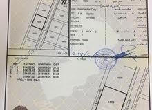 فرصة وجديد ارض ف المعبيلة الجنوبية مساحة (1000) متر للتواصل: 90999350
