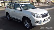 White Toyota Prado 2010 for sale