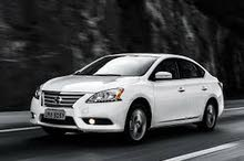 Nissan Sentra car is available for a Day rent