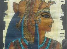 لوحة فرعةنيه لملكة مصر القديمة كيلوبترا