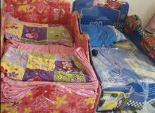 سريرين اطفال مع الفرشه للبيع
