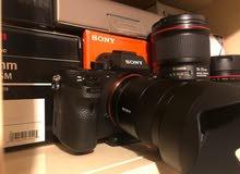 كاميرا سوني a7r II وعدسات متنوعه