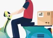 مطلوب سائقين دراجات لشركة توصيل