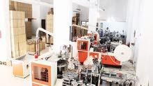 مصنع اكواب ورقية للبيع في عمان