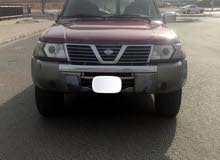 Maroon Nissan Patrol 2001 for sale