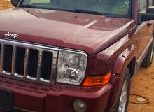 Maroon Jeep Commander 2008 for sale