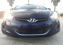 Blue Hyundai Elantra 2011 for sale