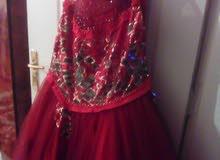 فستان ملبوس لبسة وحدة عروسة