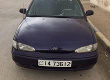 هونداي اكسنت 1995 لون كحلي للبيع