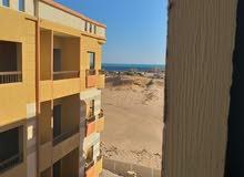 شقة برؤيه مميزه للبحر للبيع فى ارابيا الغردقة