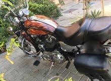 Up for sale a Harley Davidson motorbike