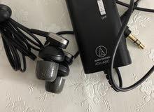 سماعات سلكية مع ميزة عزل الضجيج من اوديو تنكنيكا Audio Tecnica