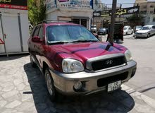 Maroon Hyundai Santa Fe 2003 for sale
