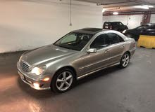 Gold Mercedes Benz C 230 2005 for sale