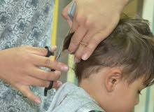 مطلوب حلاق اطفال need kids barber