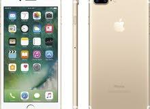 للبيع تلفون جديد اي فون 7 بلس 128GB