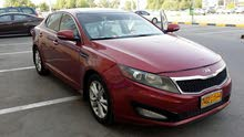 Kia Optima 2011 For sale - Maroon color