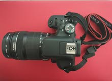 canon 750d with 18-135 lens