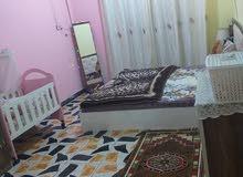 شقه للايجار طابق ثاني يتكون من غرفتين كبار وهول ومطبخ زغير وصحيات