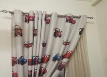 ستاره للاطفال. kids curtain theme cars