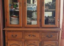 three door showcase