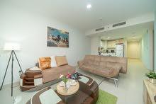 دبي ارجان البرشاء جنوب غرفة وصالة مفروشة شهري شامل