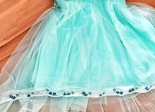 فستان سهرة مستعمل مرتين فقط