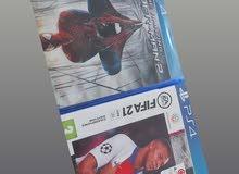fifa 21 & spider man