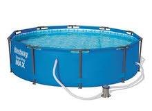 بركة سباحة جديدة استعمال مرتين فقط لا غير 3 في 3