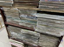 للبيع لوط مجلات متنوعة كويتية وسعودية ومصرية وعربية