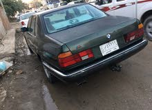 Automatic Green BMW 1990 for sale