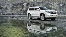 Toyota Prado for rent برادو للايجار